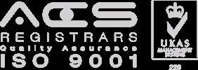 ACS Registrars ISO-9001 logo