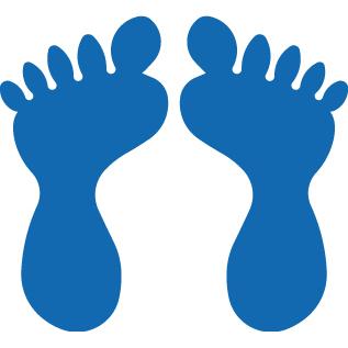 PermaStripe Feet TL99